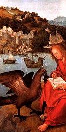 Pintura Portuguesa sec XVI, S. João Patmos