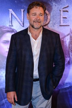 Russell Crowe - Russell Crowe Promotes 'Noah' in Rio