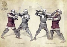 Here's another batch of Armoured Combat Techniques - please let me know if you wish to see more!  These are illustrations for the Armour Expansion of Audatia, the medieval swordfighting card g...