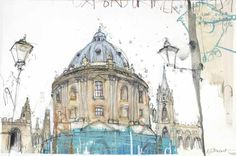 Junction Art Gallery - Kelly Stewart, Radcliffe Camera and St Mary's Church