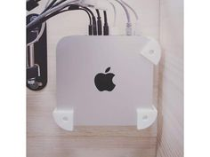 After looking for a decent wall mount for my mac mini, what I found did not fit in my printer, I found it not robust enough, so I decided to code a si Apple Watch Nike, Gold Apple Watch, Newest Macbook Pro, New Macbook, Mac Mini, Latest Iphone, New Iphone, Iphone 6 Gold, Macbook 15 Inch