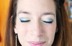 Doce para o meu Doce: Splash of green - make up DIY - Love it!  #green #makeup #diy #colors #eyes    http://www.doceparaomeudoce.com/2013/01/splash-of-green-make-up-diy.html#