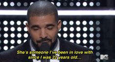 Drake professed his love for RiRi, proving that love is not dead but indeed very, very real. | 24 Images To Help You Forget About This Garbage Election