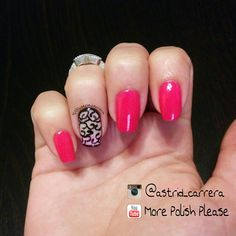 This is a cute and easy design done by hand on my natural nails,  if you would like to know how I did this design and what materials I used.. Check out my Youtube Channel. : More Polish Please And for more nail Art and to know a little more about me you can check out my instagram: www.instagram.com/@astrid_carrera ** Share your recreations with me using the hashtag #morepolishplease ***.