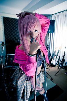 Okurine Luka- Hagane ROCK ON by *hiyuki