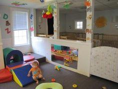 Infant room: active indoor play