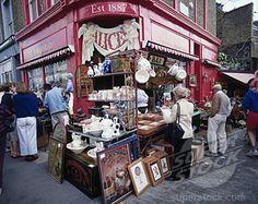 Portobello Road Market, London - love digging thou old stuff in flea markets!