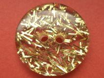 7 Knöpfe gold 18mm (571)