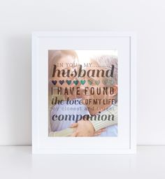 Anniversary Gift, Wedding Gift, Photo Art for Couples and Newlyweds