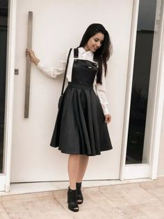 fabulous style ideas for women 5 Modest Dresses, Modest Outfits, Skirt Outfits, Pretty Dresses, Teen Fashion Outfits, Cute Fashion, Girl Fashion, Fashion Dresses, Jugend Mode Outfits