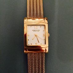 Kenneth Cole Reaction Gold Watch