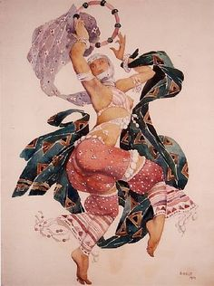 Leon Bakst (1866-1924) designed some of the most breathtaking and magical ballet costumes