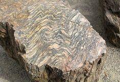 Orthogneis - ontstaan uit graniet, metamorf gesteente