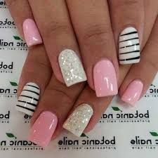 Nail art photos - 44 beautiful nail design patterns for you Source by trenddiyandcraft nails Simple Nail Art Designs, Beautiful Nail Designs, French Nails, Gorgeous Nails, Pretty Nails, Cruise Nails, Gel Nagel Design, Fingernail Designs, Finger Nail Art