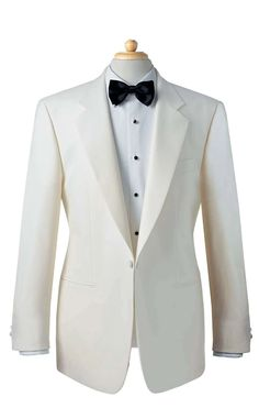Formal Hire Wear - Tux The classic tuxedo will never go out of style. Every year new styles appear but the tuxedo is a timeless symbol of elegance, grace and sophistication. White Tux Jacket, Suit Jacket, Vest, Mens 3 Piece Suits, Mens Suits, Mens Tux, Velvet Smoking Jacket, Classic Tuxedo, Corporate Outfits