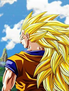 Goku ss3 #dragonball