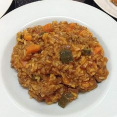 Recipe Beef Risotto by MGiss, learn to make this recipe easily in your kitchen machine and discover other Thermomix recipes in Main dishes - meat. Meat Recipes, Paleo Recipes, Cooking Recipes, Weekly Recipes, Recipies, Pregnancy Eating, Tomato Risotto, Healthy Brain, Dried Beans