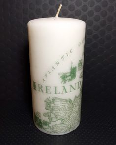 A personal favorite from my Etsy shop https://www.etsy.com/listing/271416241/ireland-hand-decorated-custom-candle