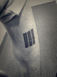 Three stripes by me #tattoo