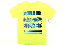 Quicksilver Surf Boys Youth Premium T Shirt (Splice/Blue)