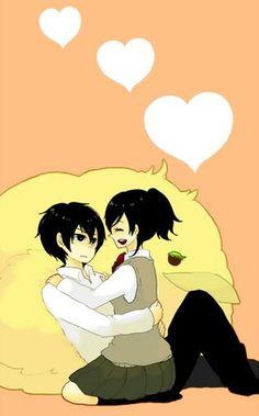 ~ Hibari x Haru ~ Special : Oha!   No pregunten ~ Esta pareja me parece muy cute ! y me trae lindos recuerdos ~     Kira ~ Te amo mucho -beshitos-       Y.S | yumi_shishido