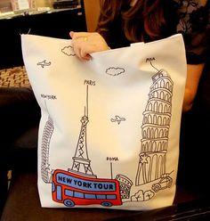 a nice cotton tote bag.