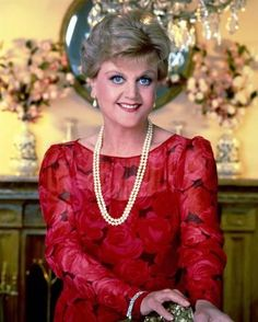 Photo: Poster of Angela Lansbury - Murder, She Wrote : 14x11in