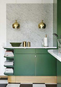 lamb & blonde: Room Love: Gorgeous Green