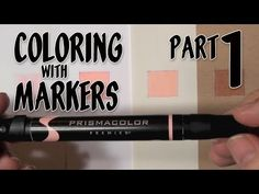 Coloring with Markers - Part 1 - YouTube