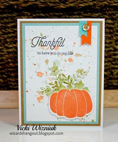 Wizard's Hangout: Blessed Beyond Measure... Thankful Card
