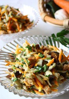 Салат з моркви та сиром