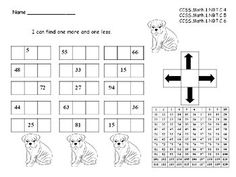 Place Value Bundle  5 Sets  Ten More, Ten Less, One More and One Less