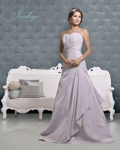 Indigo Lavender Wedding Dress – Amanda Wyatt 2011 Collection - R likes this color