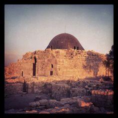 Ummayad Palace, Citadel, Amman.