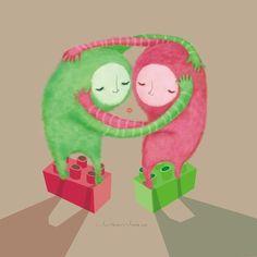 Varias cosas mas by Elissambura ilustraciones, via Behance