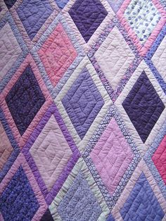 The quilting makes this, also beautiful colours too