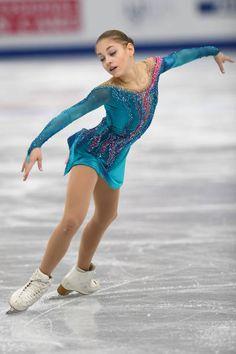 Alena Kostornaia of Russia competes in the Junior ladies free skating dance during the ISU Junior Senior Grand Prix of Figure Skating Final at Nippon...