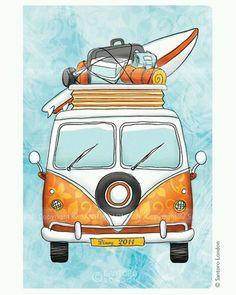 pinterest - ♡ELINE: VW bus