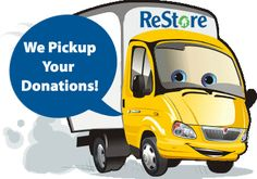 What is a Habitat ReStore?  ReStore is a resale business that sells new and used building materials and home improvement items to the general public. All materials are donated by local retail businesses, building contractors, suppliers and individuals, and are made available for sale to the public at 50% to 90% below retail prices.  All donations are tax deductible, and proceeds go back to the local Habitat for Humanity Affiliate to build houses for families in our community.