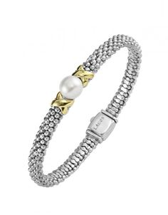 LAGOS Jewelry | Luna | Pearl Bracelet!!!  Somebody please buy this for me....
