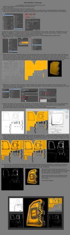 Basic Cinema 4D Texturing by DudQuitter.deviantart.com on @deviantART