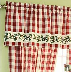 10 ideas for cheery 40s or 50s kitchen curtains - Country Kitchen Curtains Ideas