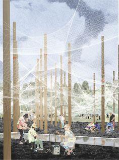 '5.5 Kg PAVILION', proyecto finalista en concurso YAP_Constructo 2016 /  Contrucci  + Sfeir  | Plataforma Arquitectura