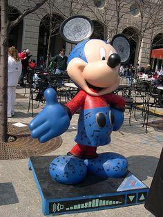 """#61 """"Rockin' Mickey"""" By Mario Vaiana - Tour City (Denver).  $4,500. for Newborn Hope (Denver)"""
