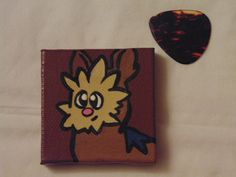 Handmade Lillipup Pokémon Magnet available at yumjellydonuts.etsy.com
