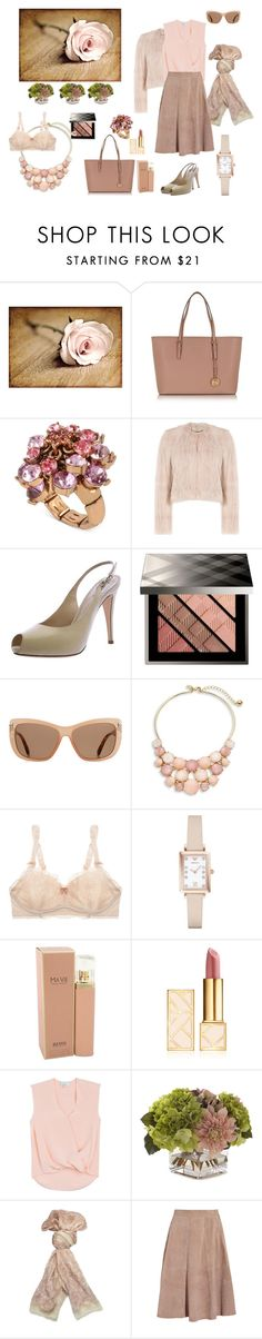 """The Get Away Outfit"" by caroleballstudio on Polyvore featuring Michael Kors, Betsey Johnson, RED Valentino, Giorgio Armani, Burberry, Tom Ford, Kate Spade, STELLA McCARTNEY, Emporio Armani and BOSS Hugo Boss"