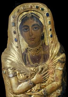 Egypt:Mummy Portraits From the Greek and Roman Occupation Period (331 B.C. - 627 A.D.)
