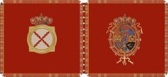 Farnesio Cavalry - Project Seven Years War Pictures Of Flags, Seven Years' War, Napoleonic Wars, Banners, Spanish, Army, Colours, Projects, Military Uniforms