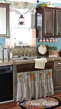 3 different effects, same kitchen