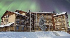 Santa's Hotel Tunturi Saariselka This peaceful hotel is situated next to Urho Kekkonen National Park, less than 30 minutes' drive from Ivalo Airport. Guests enjoy free sauna facilities and access to cross-country skiing tracks.